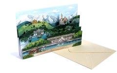 3D- Card 'König Ludwig II', Gollnow Paper Creations, 2011