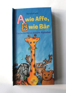 Pop-Up -Alphabet 'A wie Affe - B wie Bär', August 2009, Bertelsmann