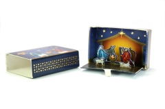 Matchbox pop-up Nativity Scene, Coppenrath, Münster, 2010