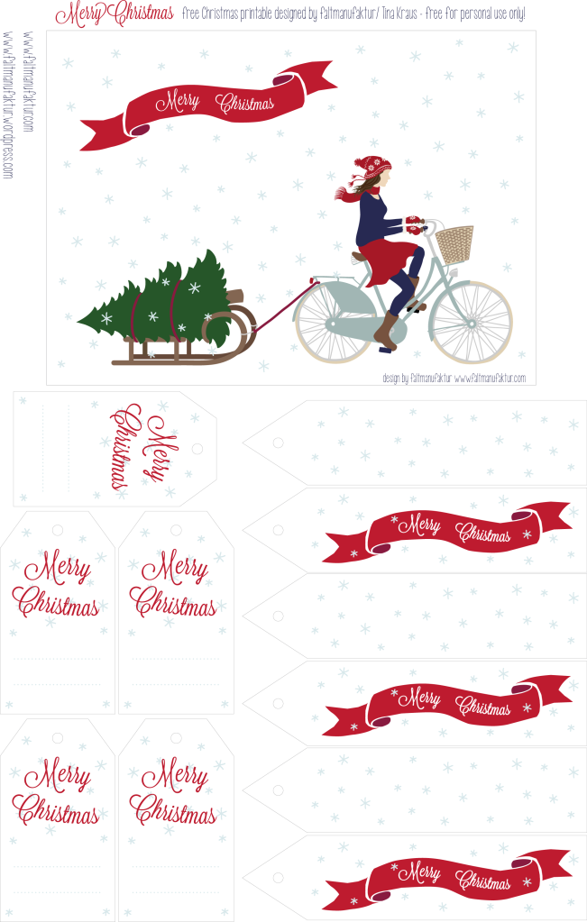 Christmas printable 2012 by faltmanufaktur