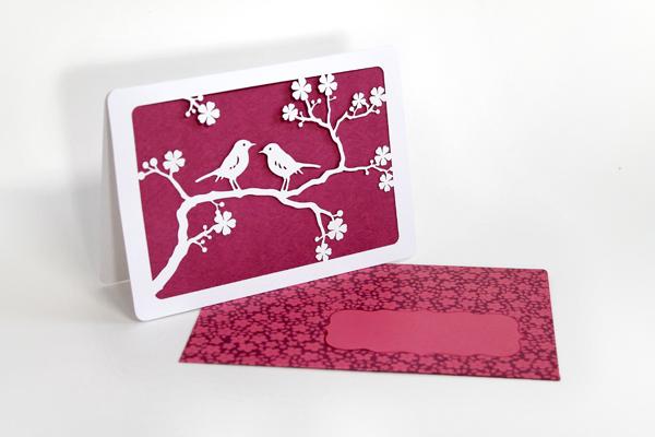 Grußkarte 'Schöne Grüße',  Design by Tina Kraus