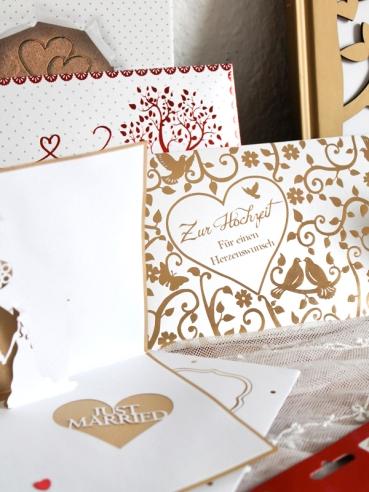 Karten und Kuverts