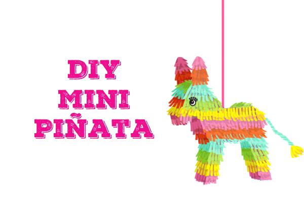 picture about Donkey Pinata Template Printable identified as El Día de los Muertos Do-it-yourself Mini Piñatas faltmanufaktur Website