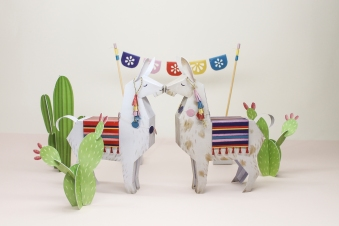 Llama_Cacti_Papertoy_freebie_DIY_faltmanufaktur01 Featured