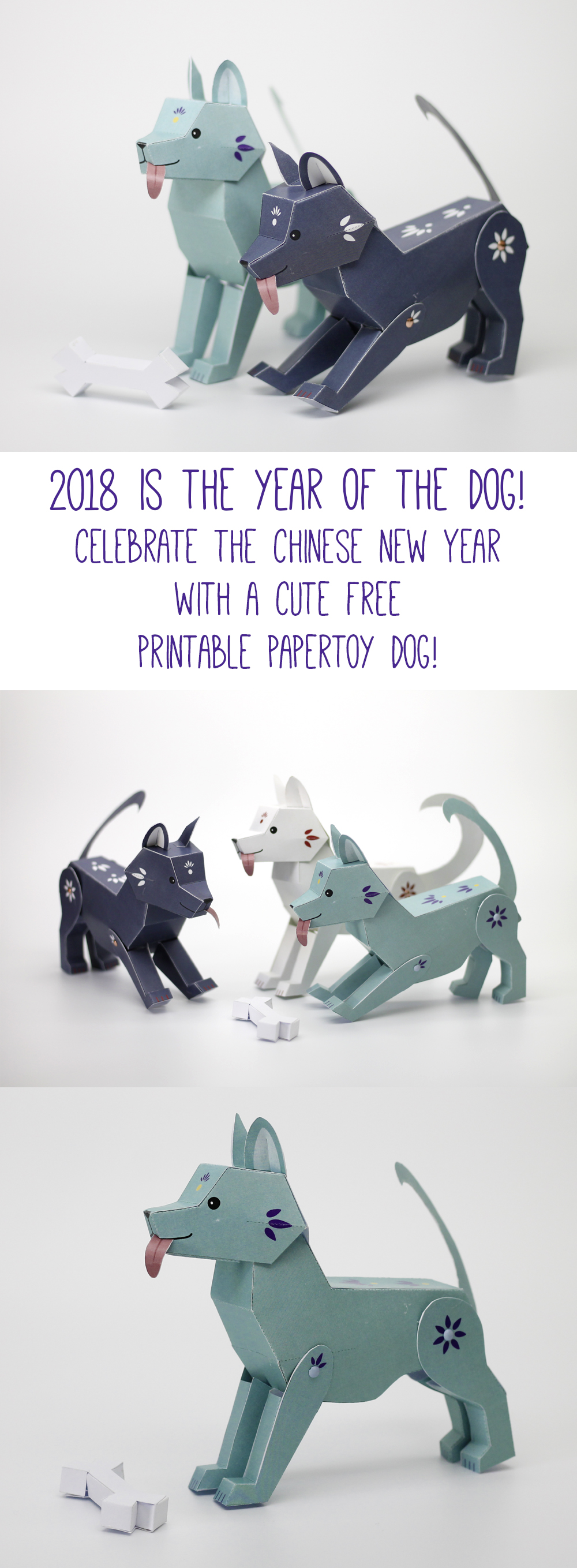 Papertoy_Dog_Freebie_for_the_chinese_new_year_2018